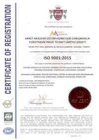 Aknet Akademi ISO 9001